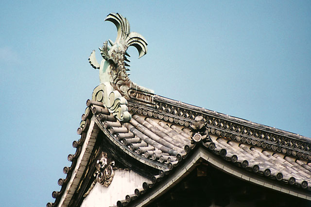 松江城の鯱鉾(しゃちほこ)