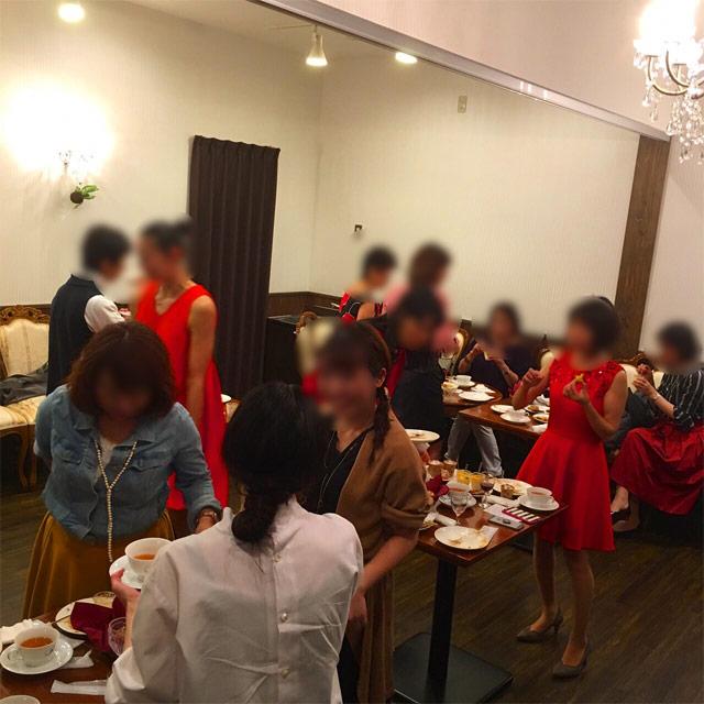 ロンネフェルトティーハウス松江のパーティ
