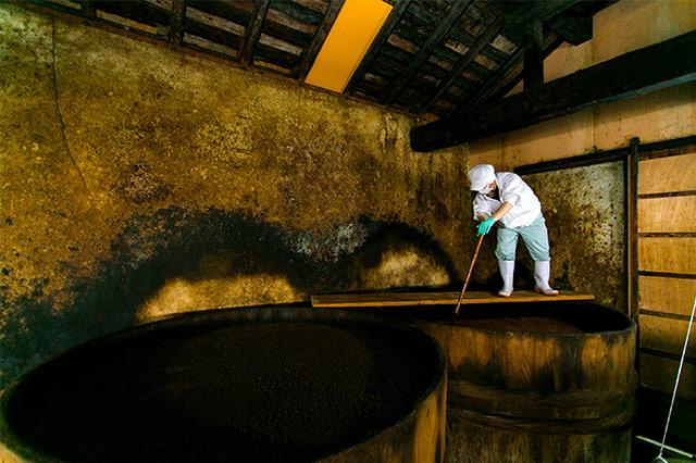 「古式製法」の醤油蔵