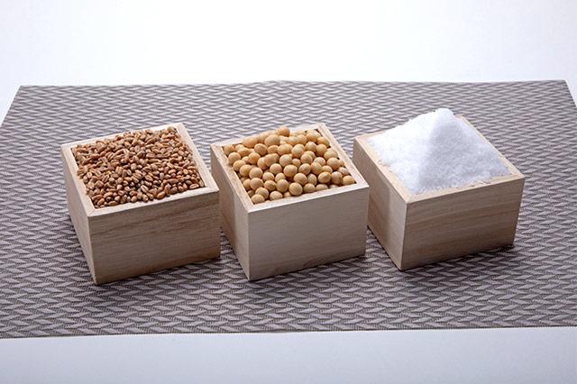 醤油の原材料