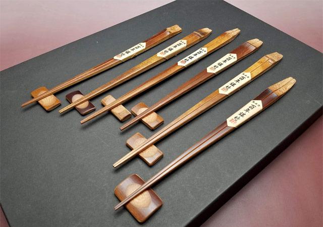 百年煤竹箸