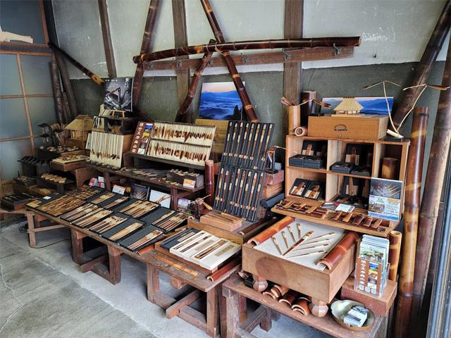 百年煤竹箸の工房