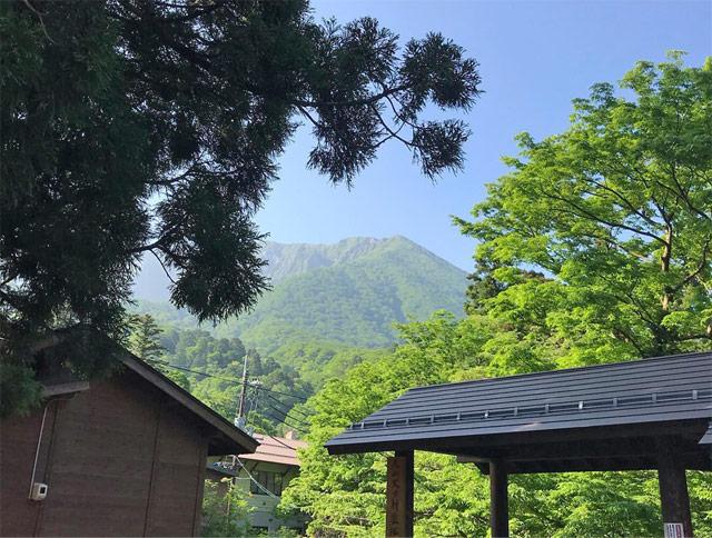修験道の聖地・大山のパワー