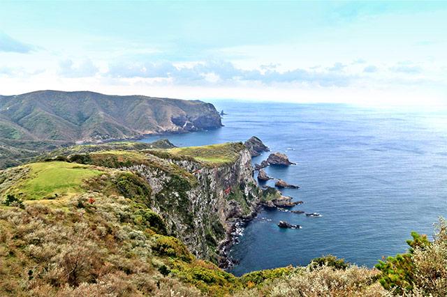 西ノ島の摩天崖