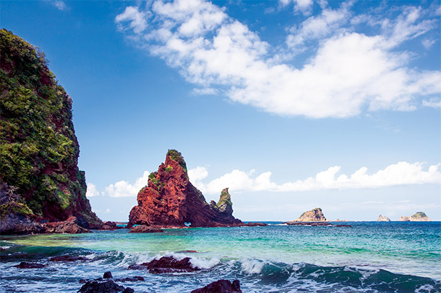 中ノ島の明屋海岸
