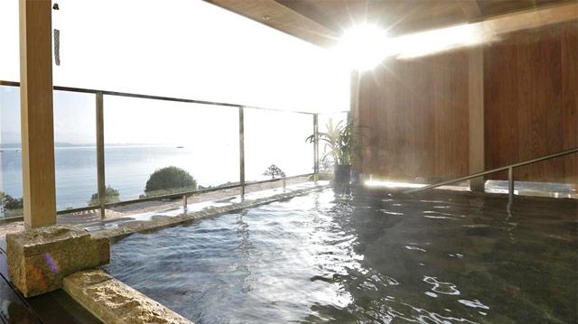 宍道湖展望露天風呂