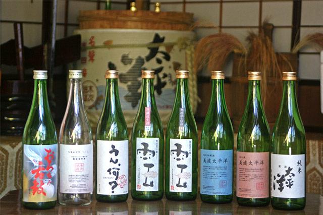 すべての原料が「地元産」の日本酒