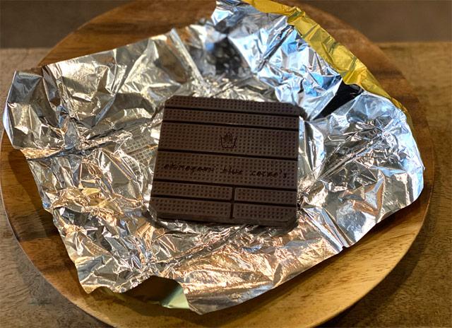 ブルーチョコレート